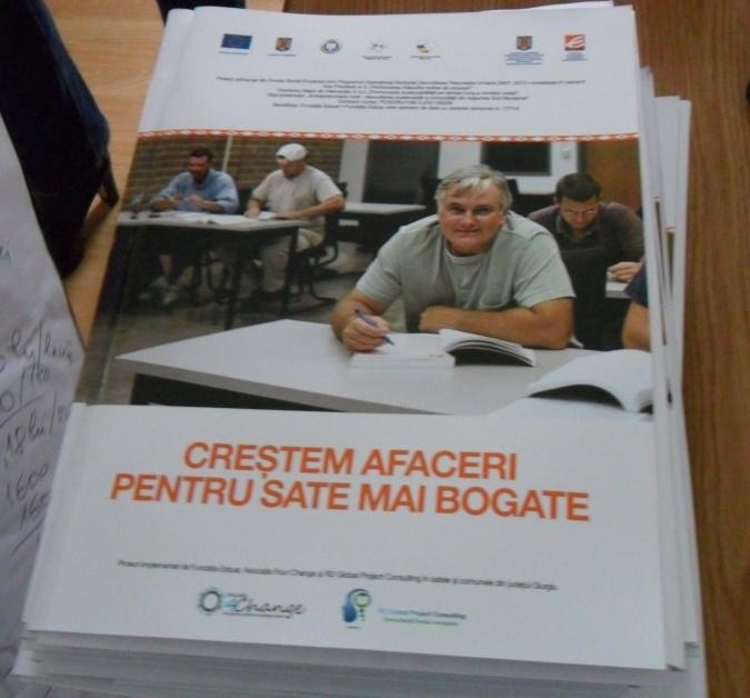 Antreprenoriatul rural – Dezvoltare sustenabila a comunitatii din Regiunea Sud Muntenia